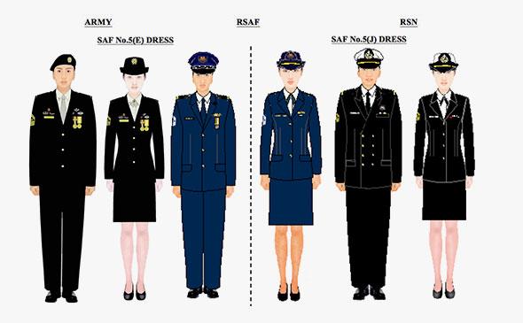 SAF No 5 Dress